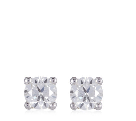0.17ct Certified VS Diamond Stud Earrings 9ct Gold