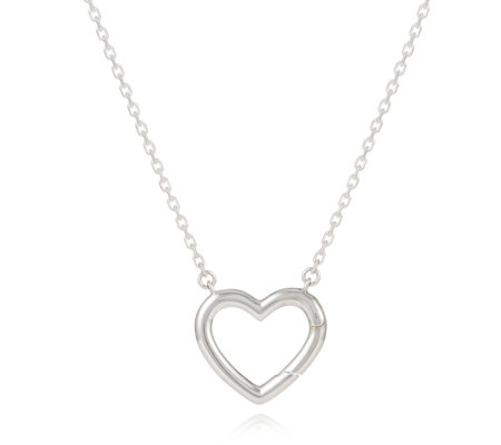 Links of London Charm Catcher Heart 45cm Necklace Sterling Silver