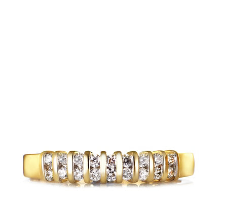 0.25ct SI2 Canadian Diamond Tension Set Ring 9ct Gold
