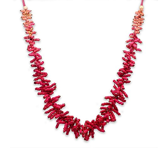 Boho Betty Bright Textured 120cm Necklace