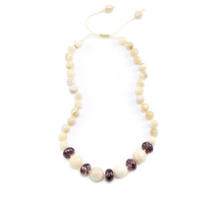 Lola Rose Brooke Semi Precious 49cm Necklace