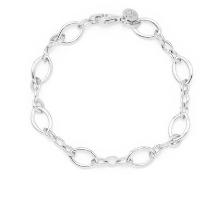 K by Kelly Hoppen Capri Hero 19cm Bracelet Sterling Silver