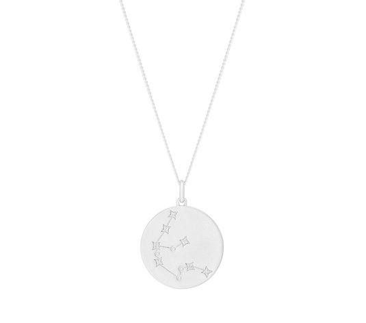 Lisa Snowdon Diamond Constellation 45cm Necklace Sterling Silver