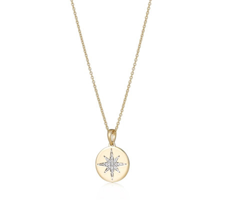 Lisa Snowdon Follow Your Star 45cm Diamond Necklace Sterling Silver