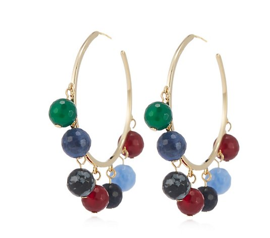 Lola Rose Raquel Semi Precious Earrings