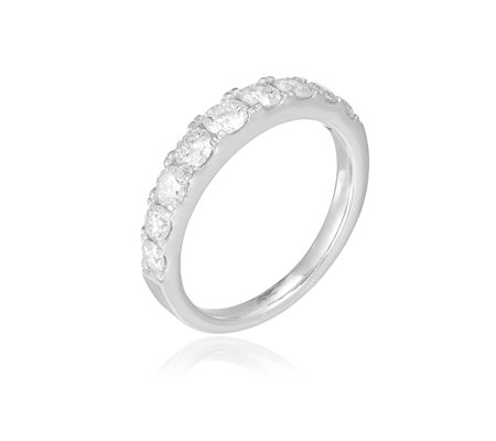 1.00ct Diamond Graduated Eternity Forever Ring 9ct Gold