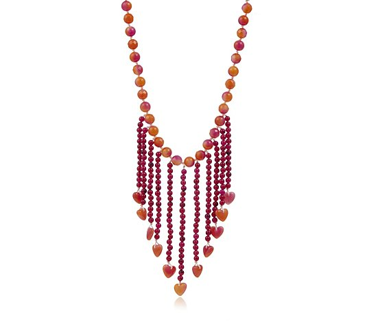 Lola Rose Abygail Semi Precious 44cm Necklace