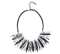 Frank Usher Two Tone Statement 48cm Necklace - 308712