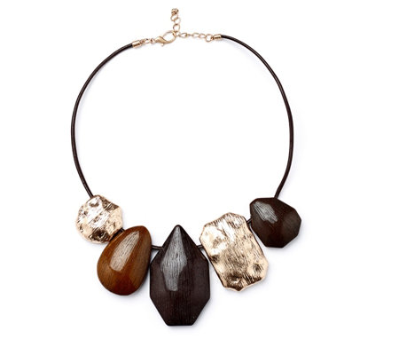 Frank Usher Statement Stone 48cm Necklace