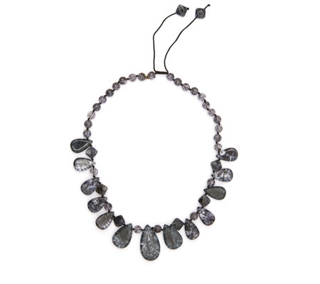 Lola Rose Loulou Semi Precious 52cm Necklace