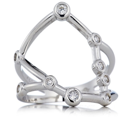 Ophia Cosmic Constellation Ring Sterling Silver