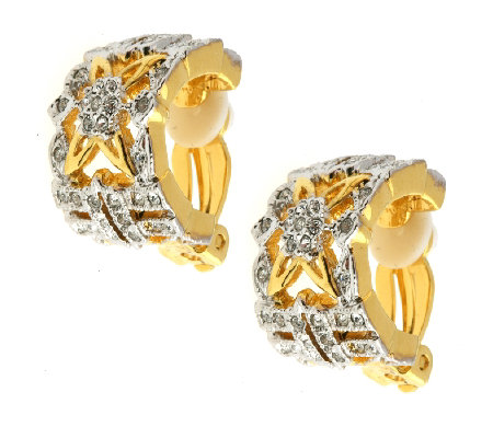 Jacqueline Kennedy Collection Estate Earrings - QVC UK