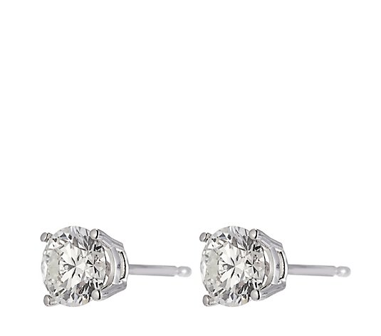 1.00ct H SI2 Fire Light Lab Grown Diamond Stud Earrings 18ct Gold