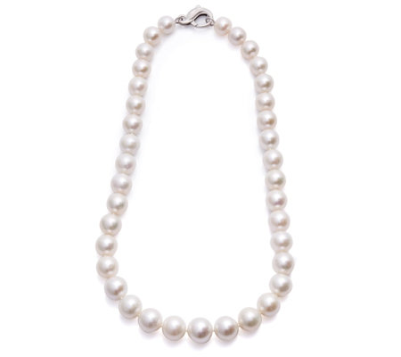 Honora 10-13mm Classic Ming Pearl 45cm Necklace Sterling Silver