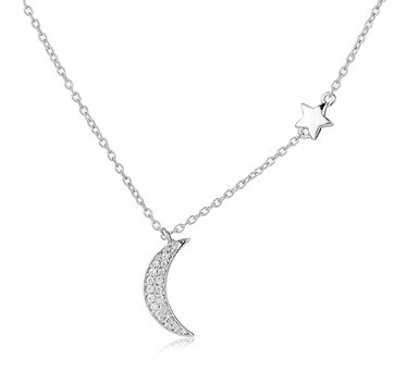 Ophia Dancing in the Moonlight 45cm Necklace Sterling Silver - 330919
