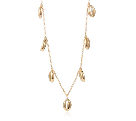 Lisa Snowdon Shell 45cm Necklace Sterling Silver