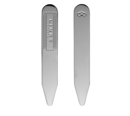 Links of London Collar Stiffeners Silver Plated