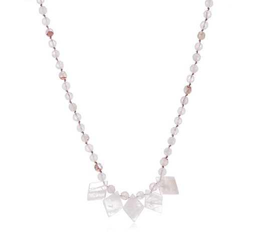 Lola Rose Caren Semi Precious 36cm Necklace