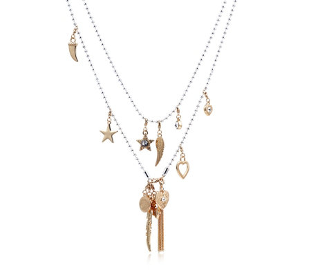 Bibi Bijoux Open End Charm 138cm Necklace