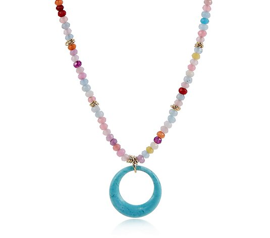 Lola Rose Chatham Semi Precious 42cm Necklace