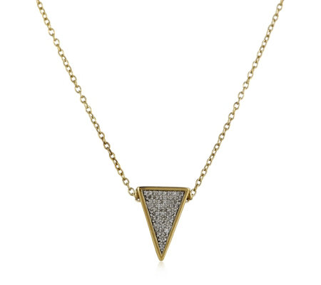 Outlet Lisa Snowdon Pendant & Chain Gold Vermeil Sterling Silver