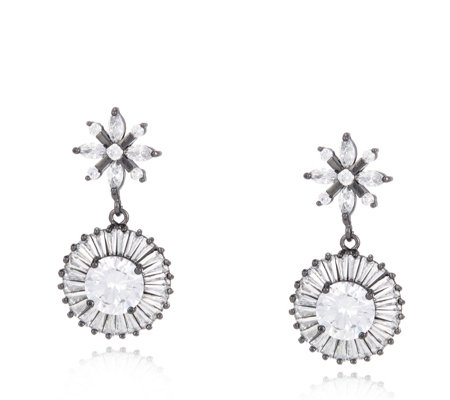 Butler & Wilson Crystal Drop Earrings