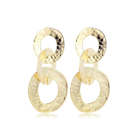 Frank Usher Chain Link Earrings