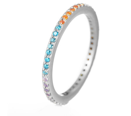Ophia Over the Rainbow Ring Sterling Silver