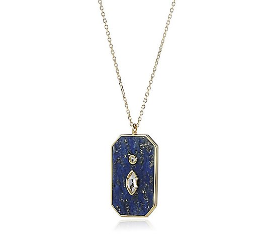 Lola Rose Curio Playing Cards Semi Precious 50cm Necklace