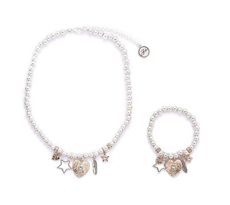 Bibi Bijoux Boxed Necklace & Bracelet Set