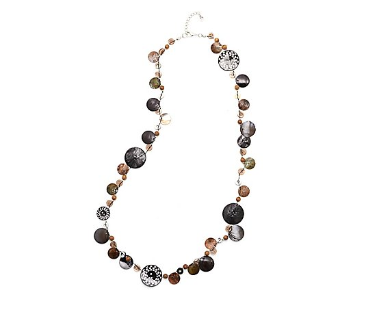 One Button Fiesta Necklace