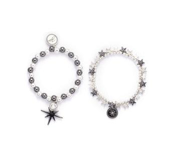 8b466a0ddfdd Bibi Bijoux Set of 2 Star Bracelets - 340225