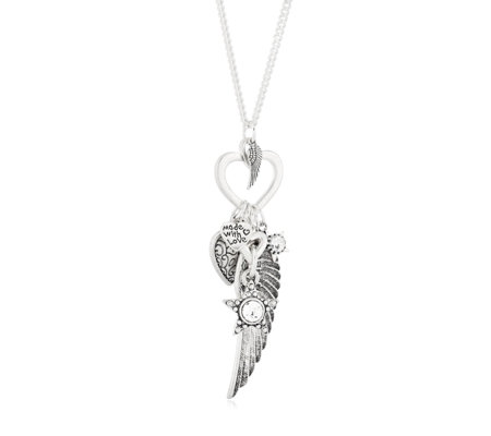 Bibi Bijoux Angel Wing 81cm Necklace