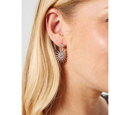 Frank Usher Mini Starburst Earrings