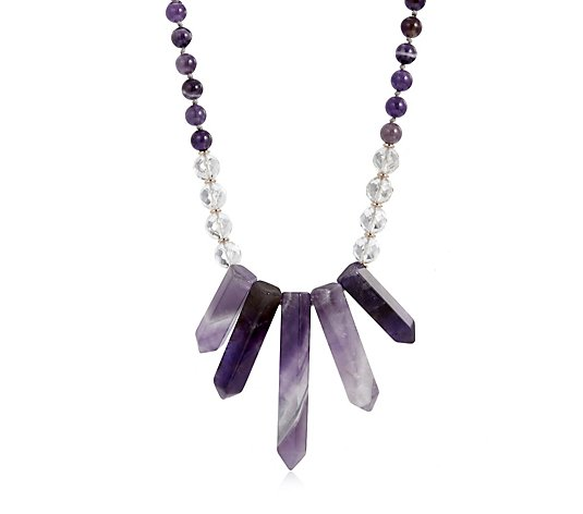Lola Rose Alexendra Semi Precious 46cm Necklace