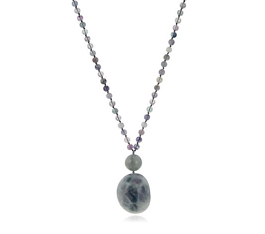 Lola Rose Semi Precious Porto 68cm - 84cm Necklace
