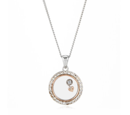 Clogau 9ct Rose Gold & Sterling Silver Tree of Life 56cm Necklace