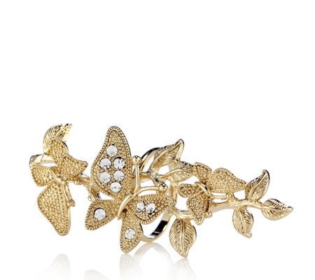Loverocks Butterfly Ivy Ring