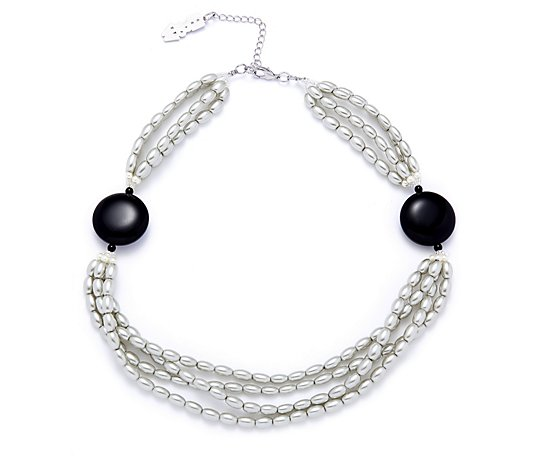 Butler & Wilson Simulated Pearls 51cm Necklace