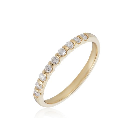 0.25ct Diamond Round Brilliant Cut Eternity Ring Platinum
