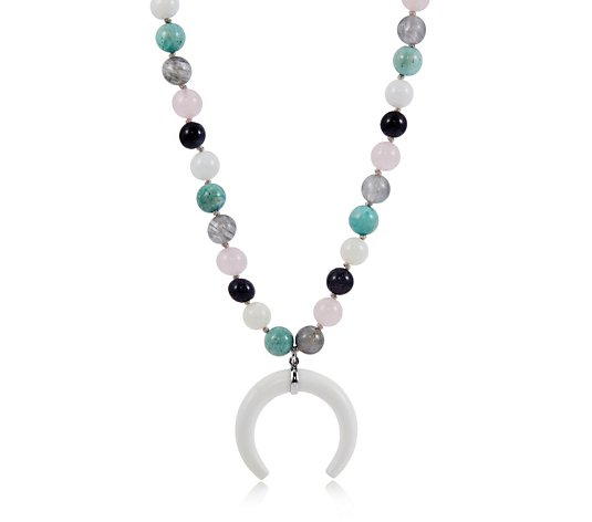 Lola Rose Nissa Semi Precious 42cm Necklace