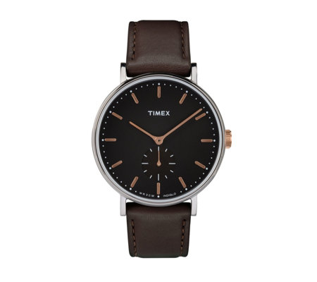 Timex Boutique Fairfield Chrono Sub Dial Watch
