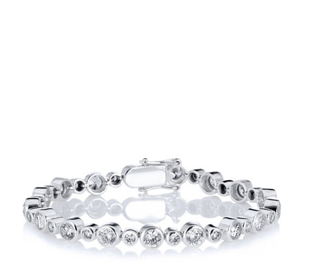 K By Kelly Hoppen Tennis Bracelet with CZ Sterling Silver