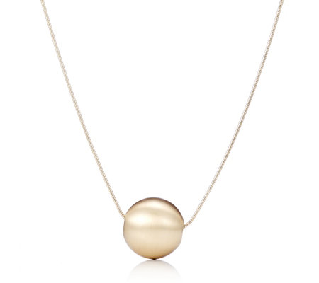 "MarlaWynne Ball Pendant 36"" Necklace"