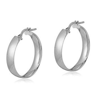 9ct Gold Polished Hoop Earrings 340136