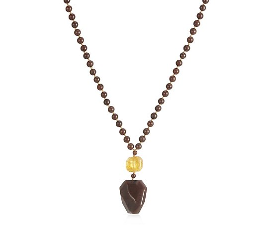Lola Rose Jupiter Semi Precious 74cm Necklace