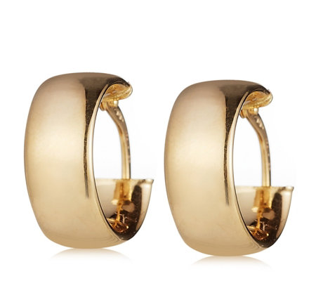 9ct Gold Creole Hoop Earrings