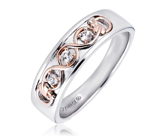 Clogau Limited Edition Tree of Life White Topaz Ring Sterling Silver
