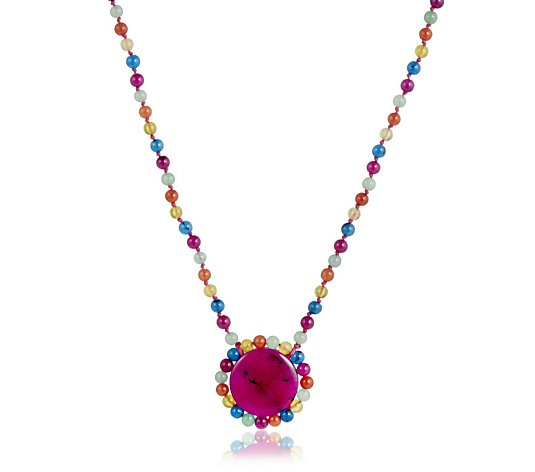 Lola Rose Semi Precious Mel Necklace