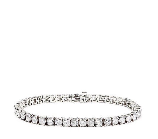 11.00ct Diamond Tennis 19cm Bracelet 14ct Gold